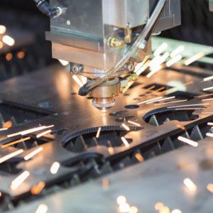 laserskæring af metal
